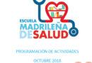 Boletín de actividades Octubre – Escuela Madrileña de Salud