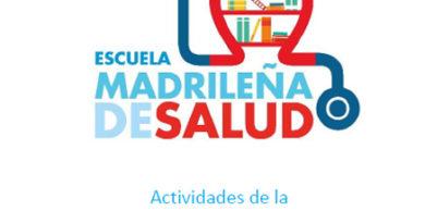 Boletín de Actividades Diciembre – Escuela Madrileña de Salud