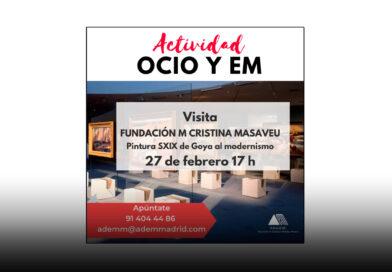 Visita a Fundación Mª Cristina Masaveu – ADEMM