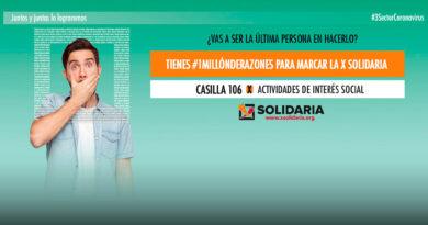X Solidaria – Casilla 106 Renta