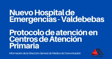 Comunicados Comunidad de Madrid