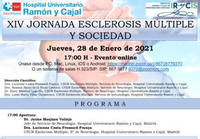 XIV Jornadas Sociedad y EM – Hospital Ramón y Cajal